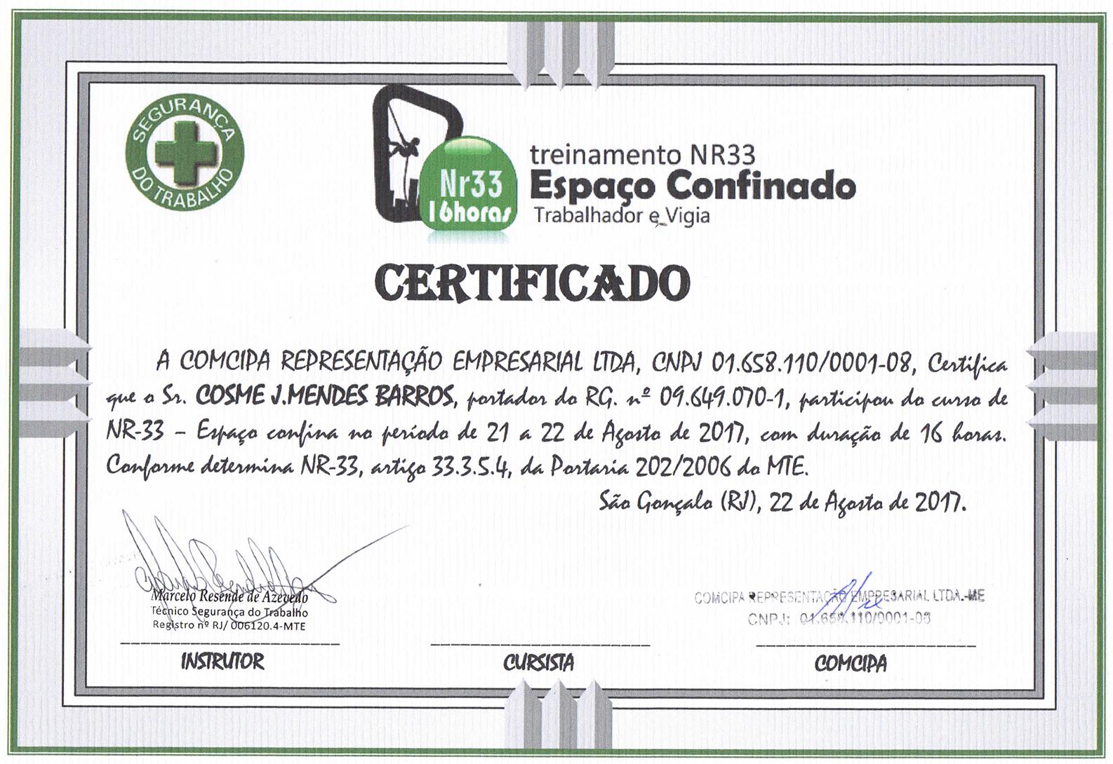 Certificações Control C Controle De Pragas